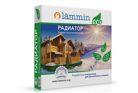 Радиатор биметаллический Lammin® ECO с высотой секции 500 мм.