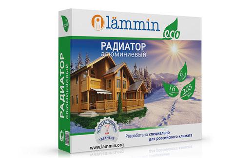 Алюминиевый радиатор Lammin®  ECO с высотой секции 500 мм.