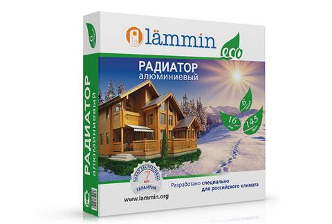 Алюминиевый радиатор Lammin®  ECO с высотой секции 350 мм.